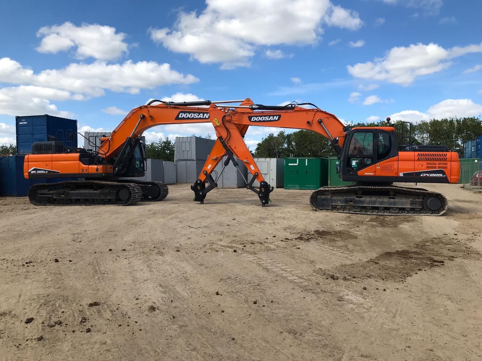 New Excavators!